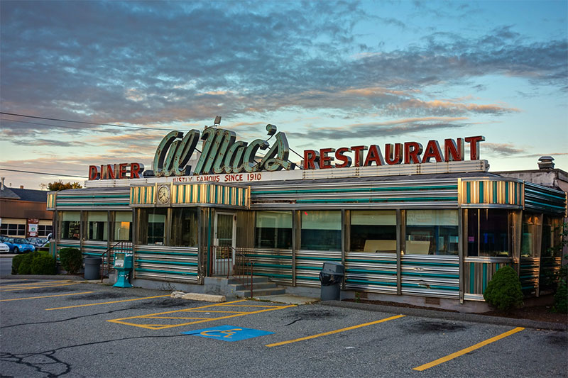 Al Mac's Diner à Fall River dans le Massachusetts