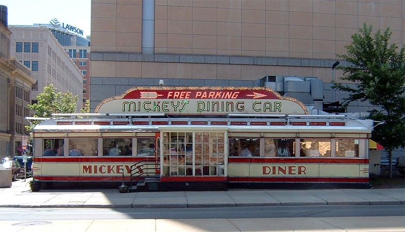 Mickey's Diner, Saint Paul, Minnesota