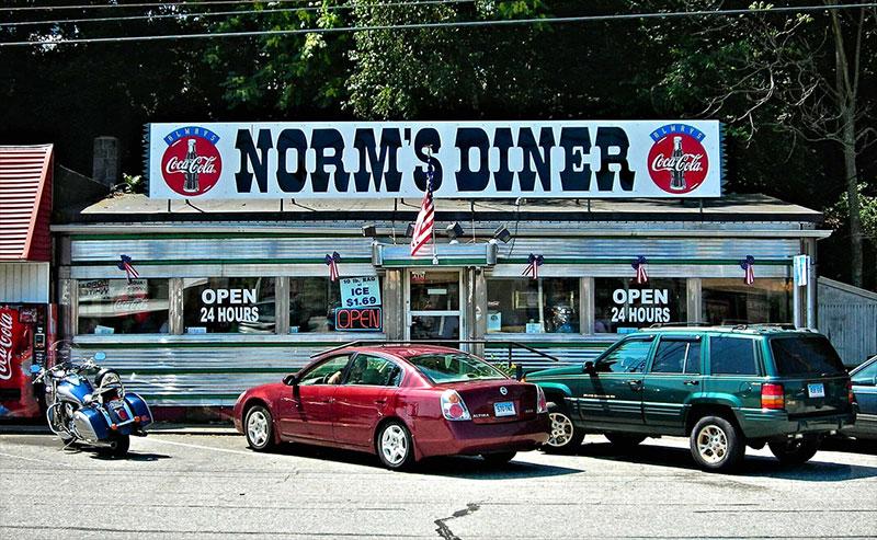 Norm's Diner à Groton dans le Connecticut