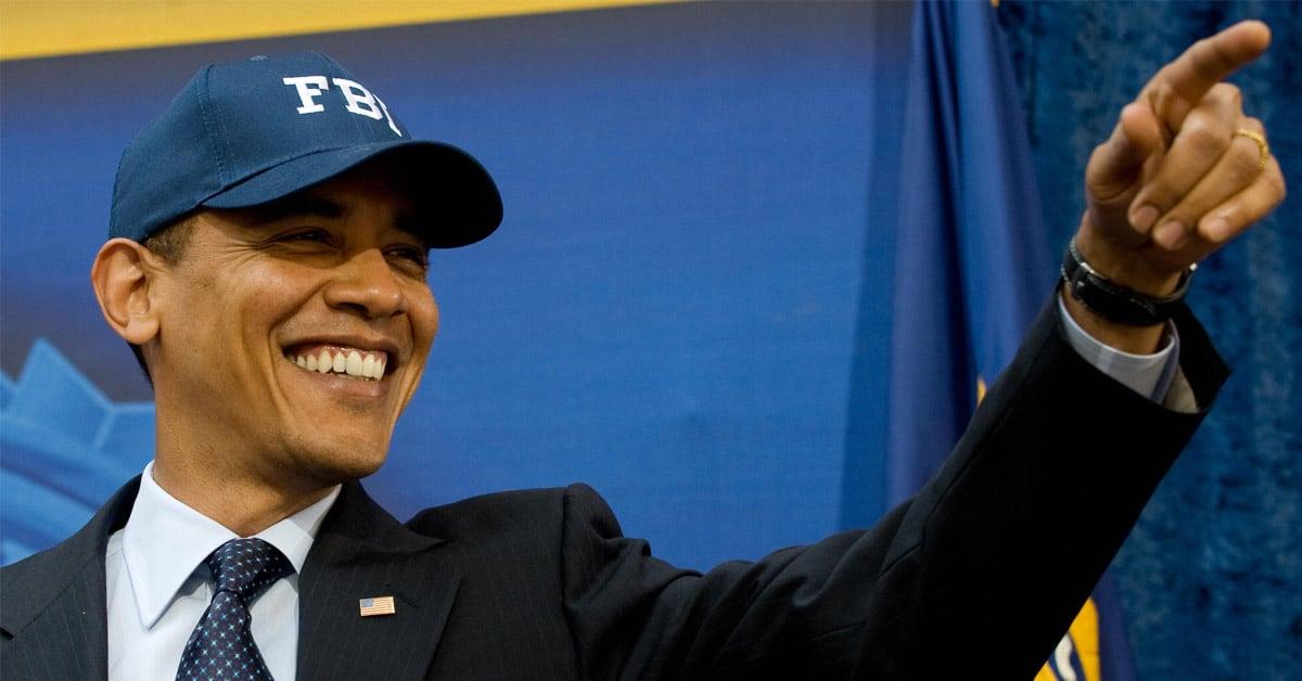 Le président Obama et sa casquette