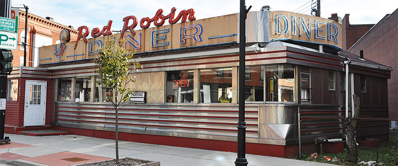 Red Robin Diner, Johnson City, New York