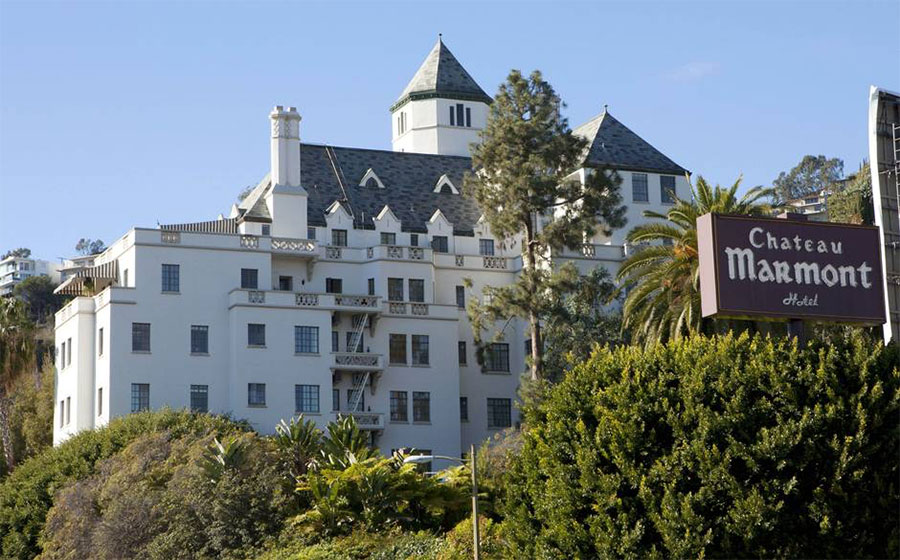 Chateau Marmont à Los Angeles Californie