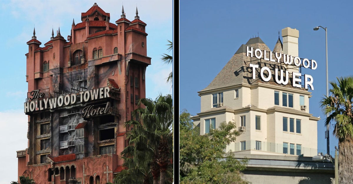 Hollywood Tower Hotel à Disney et à Los Angeles