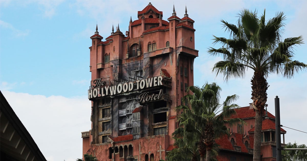 Hollywood Tower Hotel à Walt Disney World Orlando, Floride