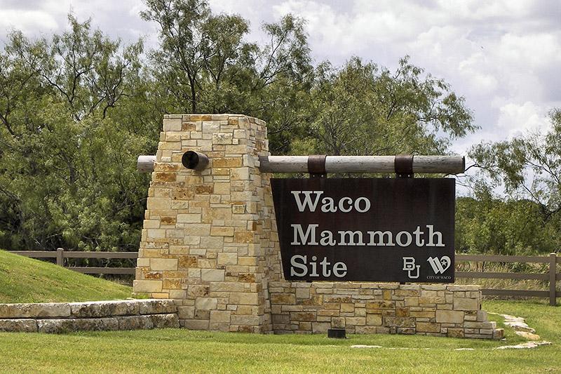 Entrée Waco Mammoth Site