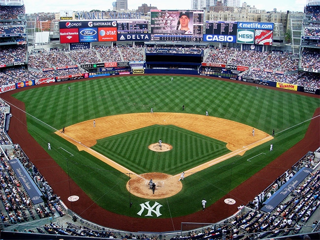 Match au Yankee Stadium avec le New York Pass