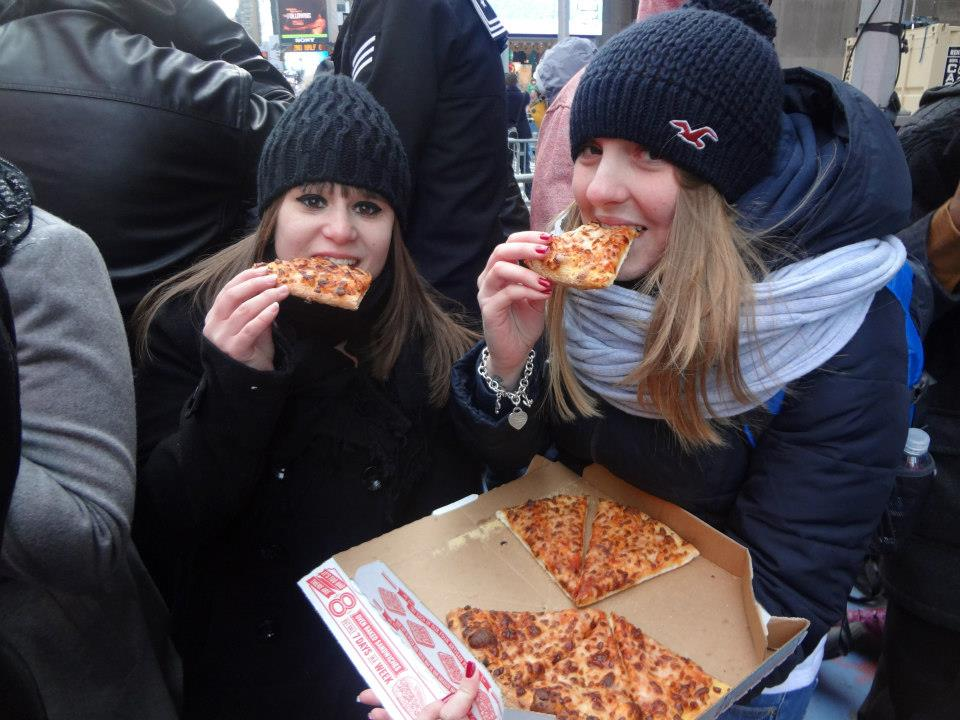 Pizza Times Square Nouvel An