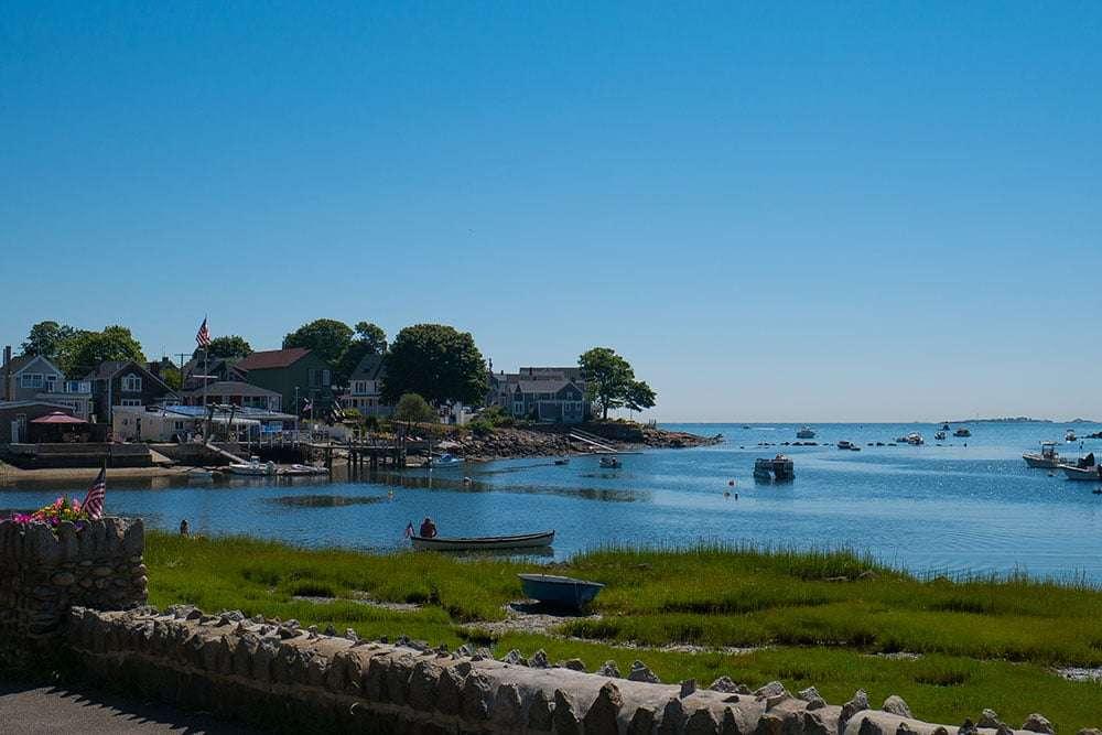 Maisons au bord de l'eau à Salem