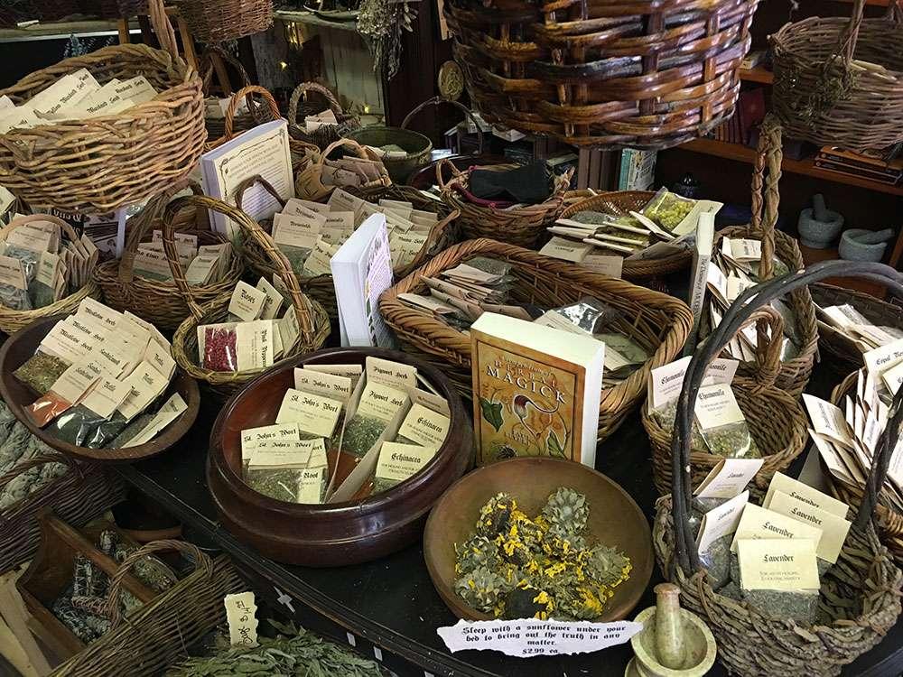 Boutique de sorcière à Salem