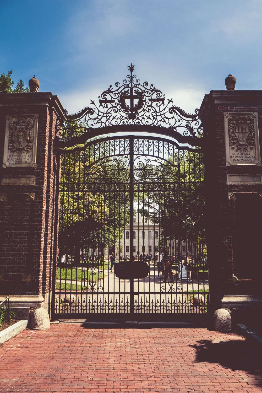 Johnston Gate à Harvard