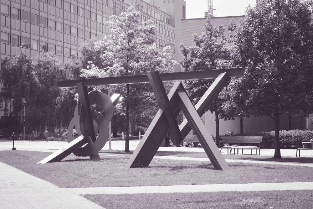 Oeuvre d'art au MIT