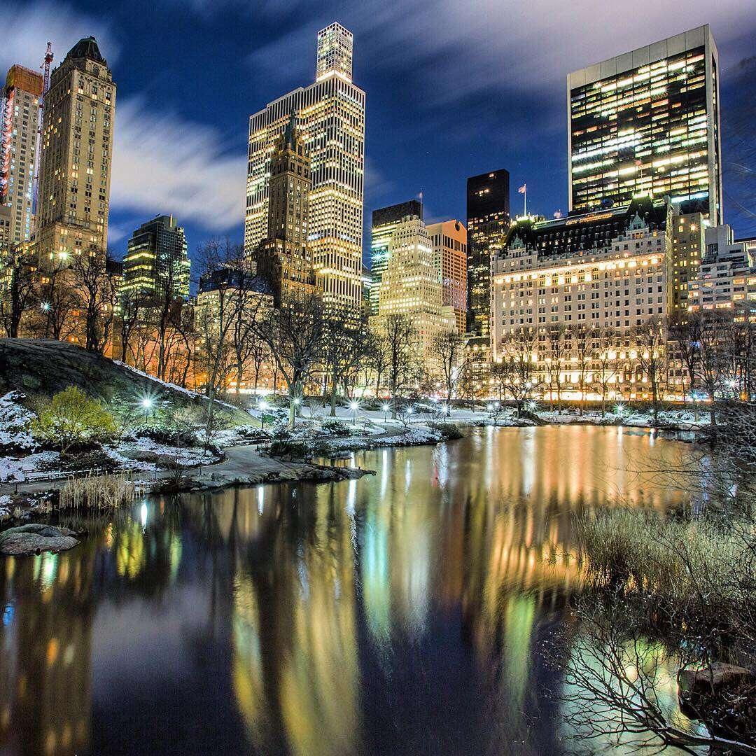 Réflection à Central Park