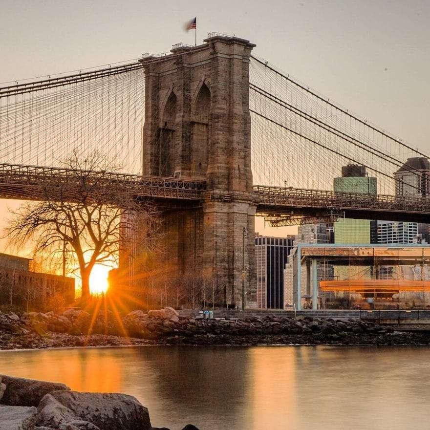 Pont de Brooklyn par Matt Chimera