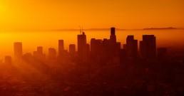 Los Angeles au coucher de soleil