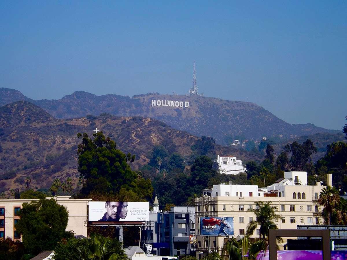 Panneau Hollywood depuis Los Angeles