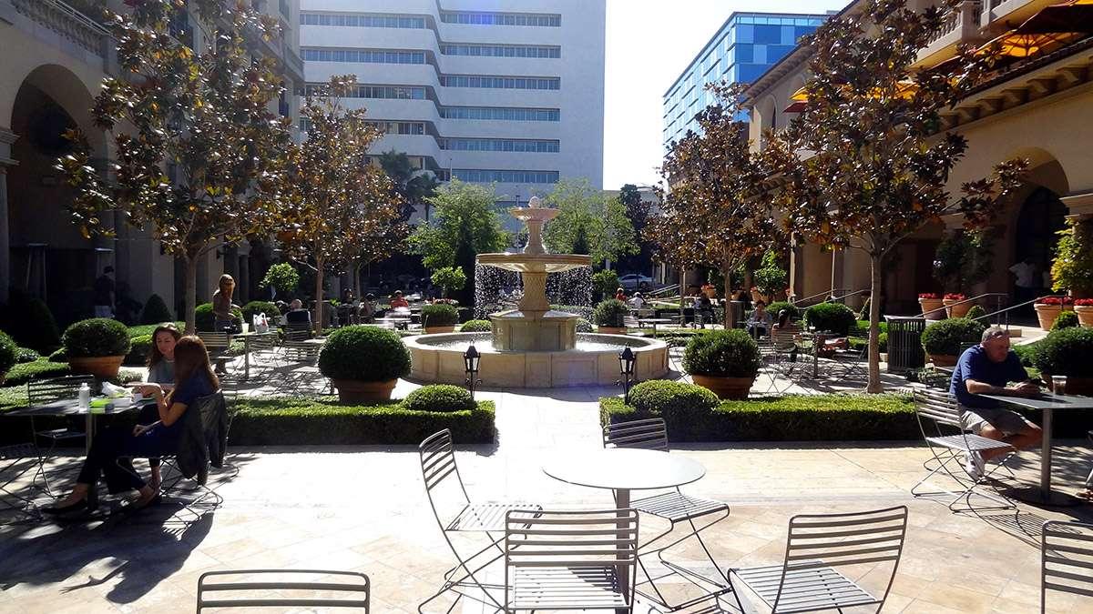 Place commerciale à Los Angeles