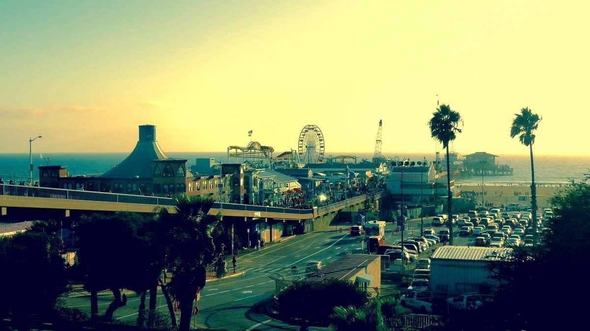 Santa Monica Pier à Los Angeles
