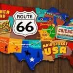 Route 66 en van aménagé