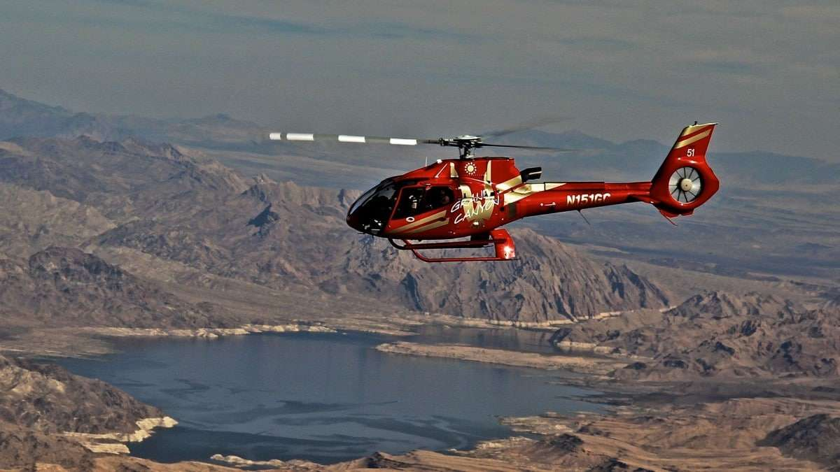 Hélicoptère Papillon Lake Mead