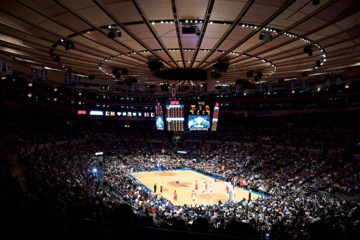 New York Knicks au Madison Square Garden