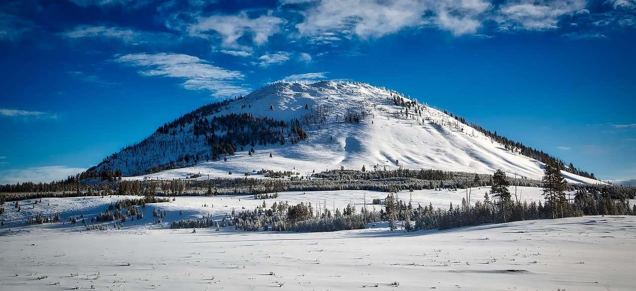 Bunson Peak Yollwstone en hiver