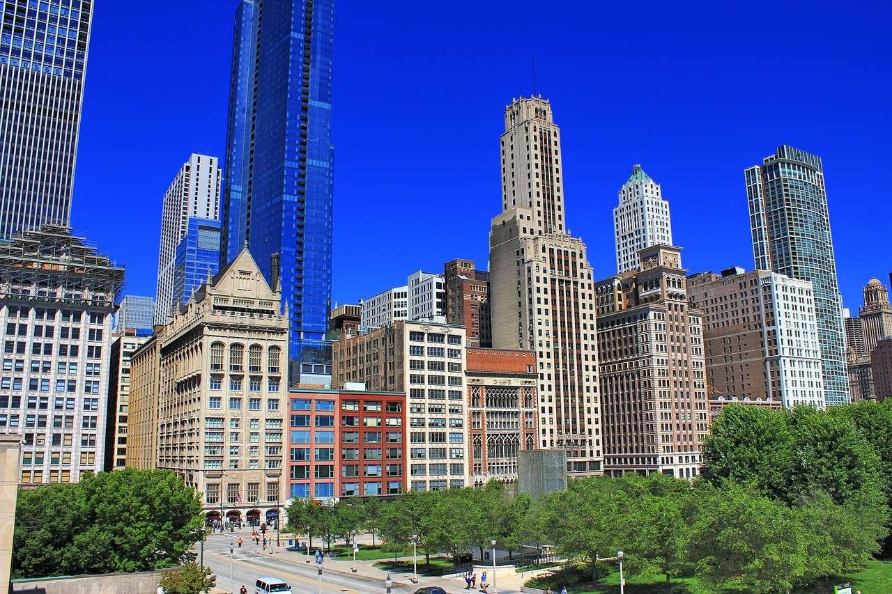 Chicago en été