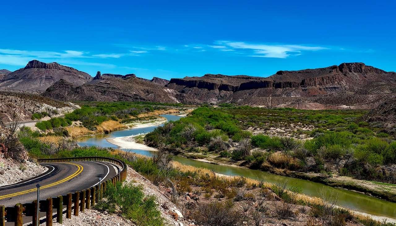 Rivière Rio Grande Texas