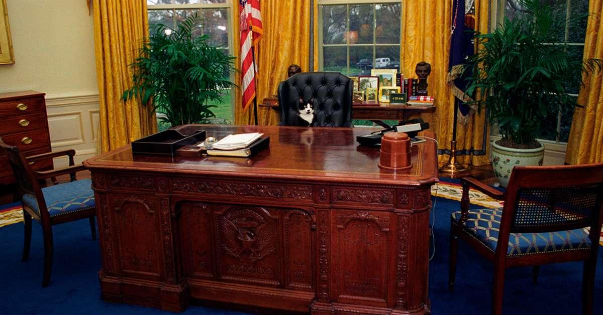 Bureau Oval de la maison Blanche