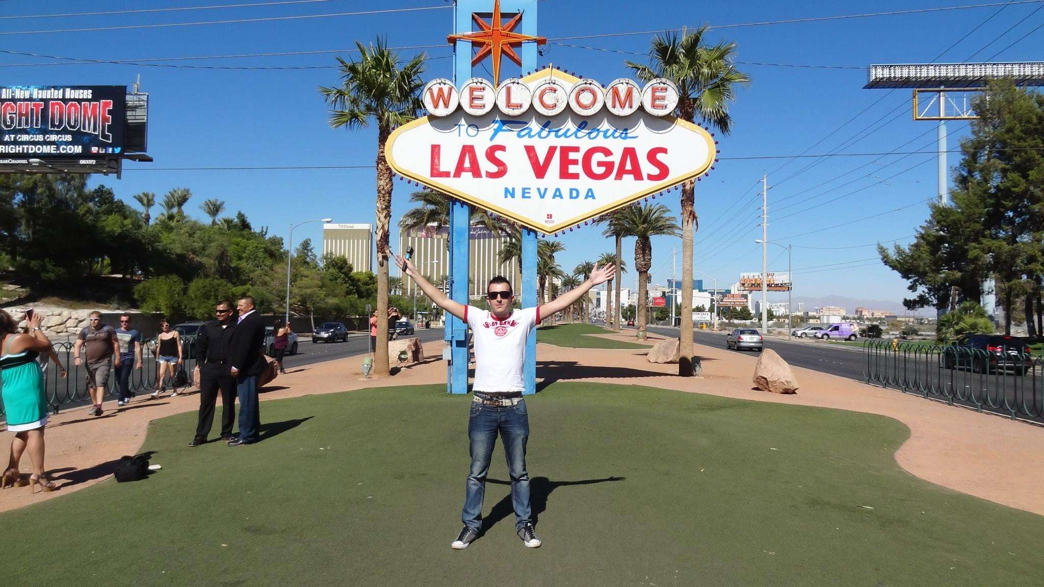 Panneau Welcome to Fabulous Las Vegas