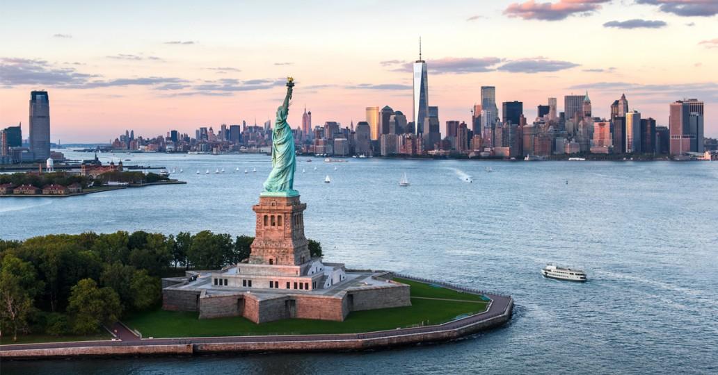 Skyline Manhattan Statue de la Liberté