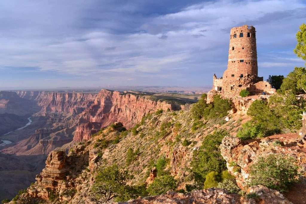 Desert View Watchtower au Grand Canyon