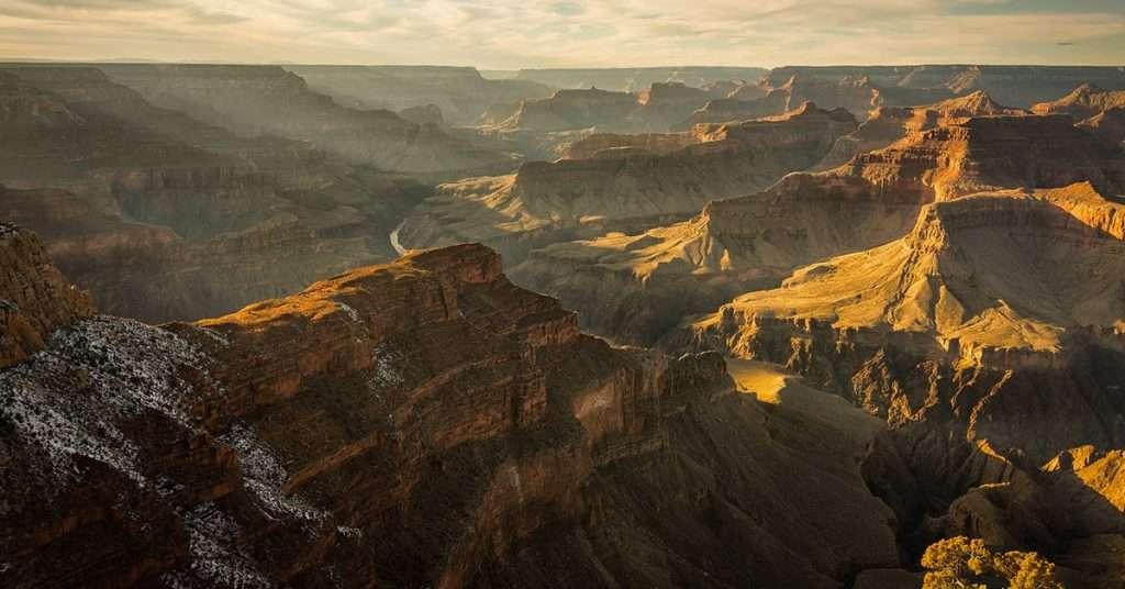 Météo au South Rim du Grand Canyon