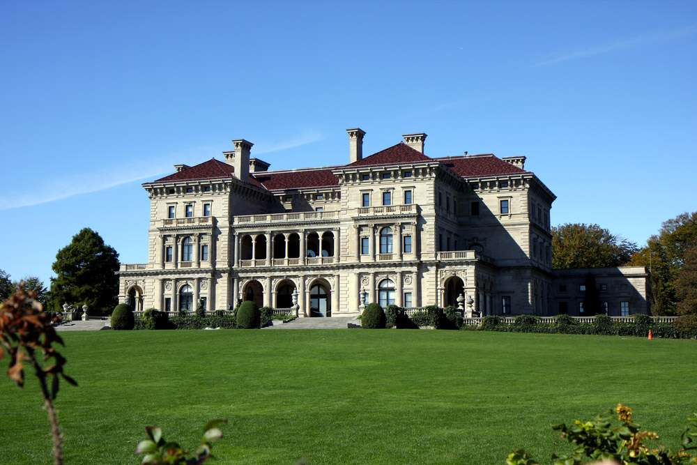 Grande Mansion à Newport