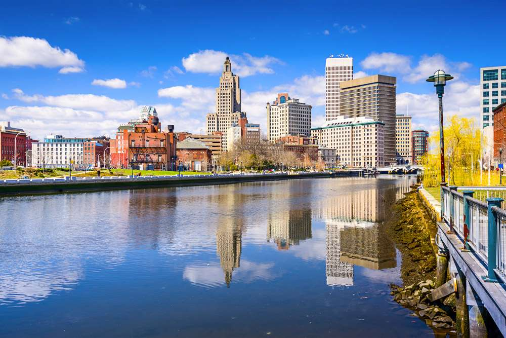 Skyline Providence Rhode Island