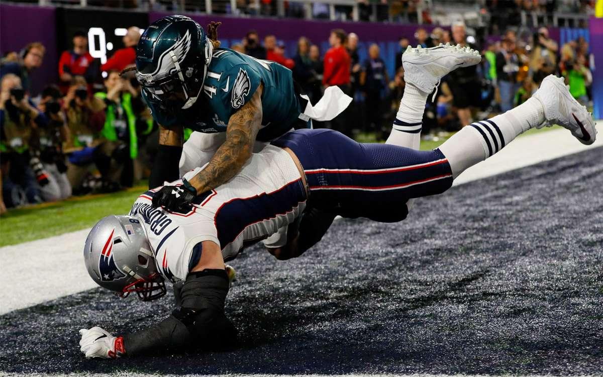 Touchdown des New England Patriots