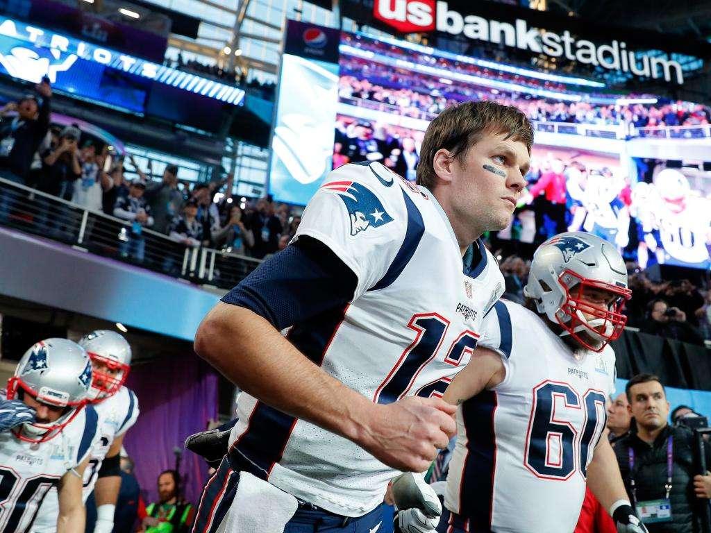 Tom Brady rentre sur le terrain