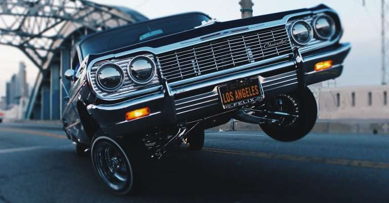 Voiture à Los Angeles Low Rider