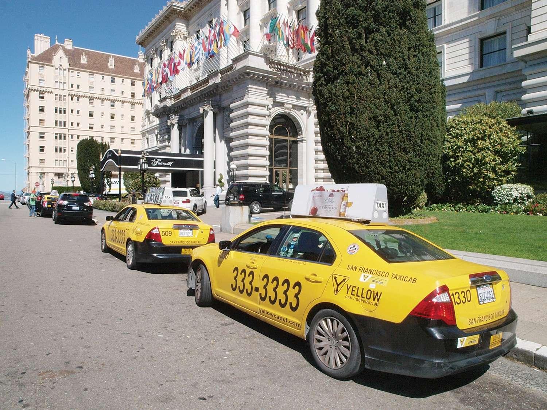 Taxi à San Francisco pour rejoindre l'aéroport