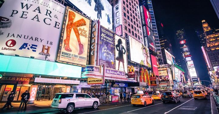 Broadway à Times Square