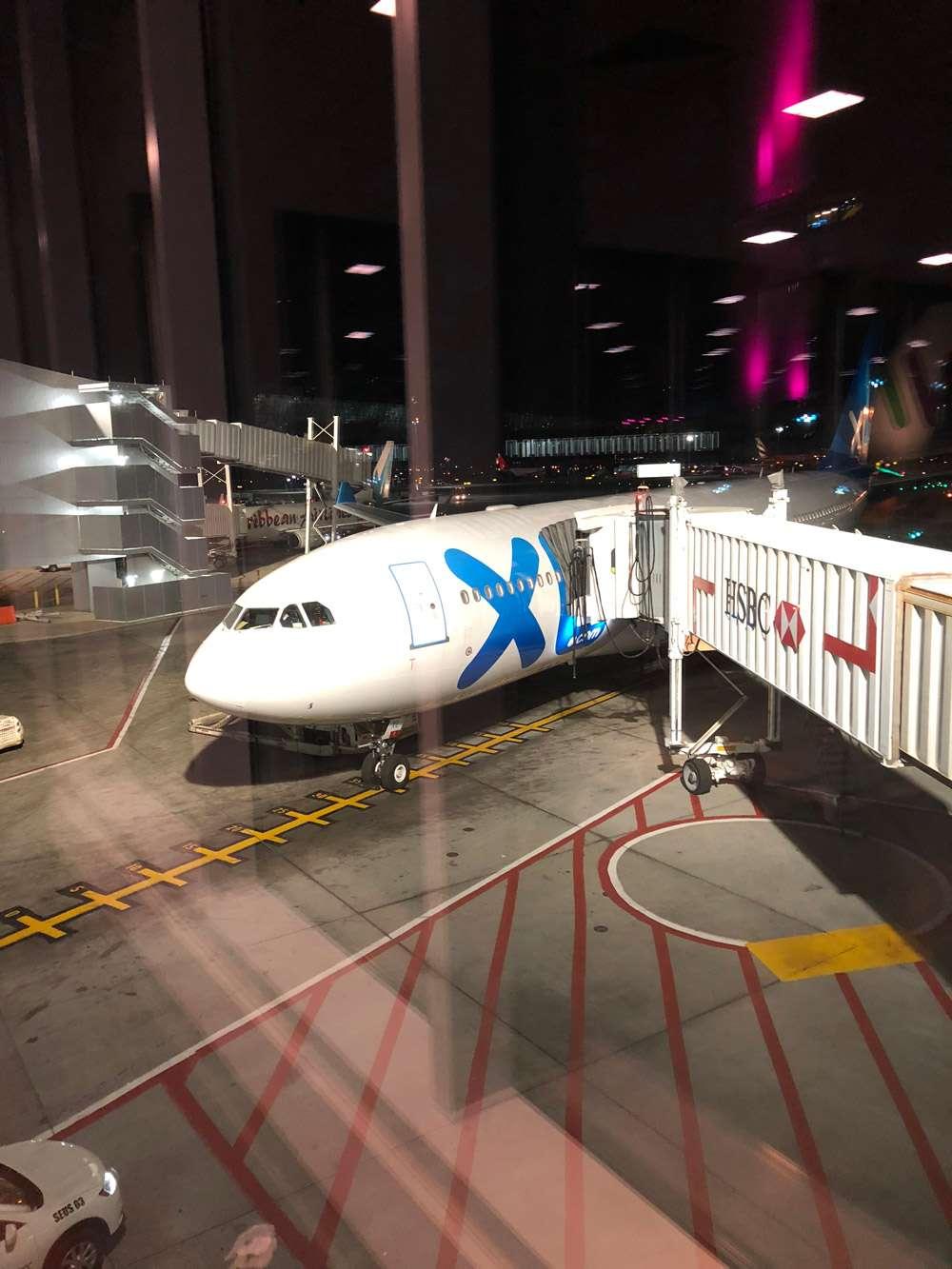 Avion de nuit XL Airways