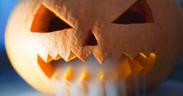 Découper une citrouille d'Halloween