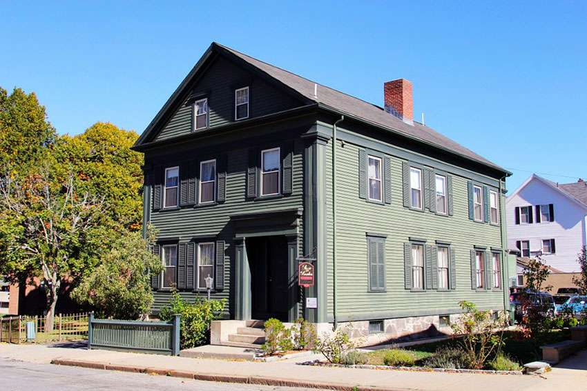 Massachusetts Lizzie Borden House