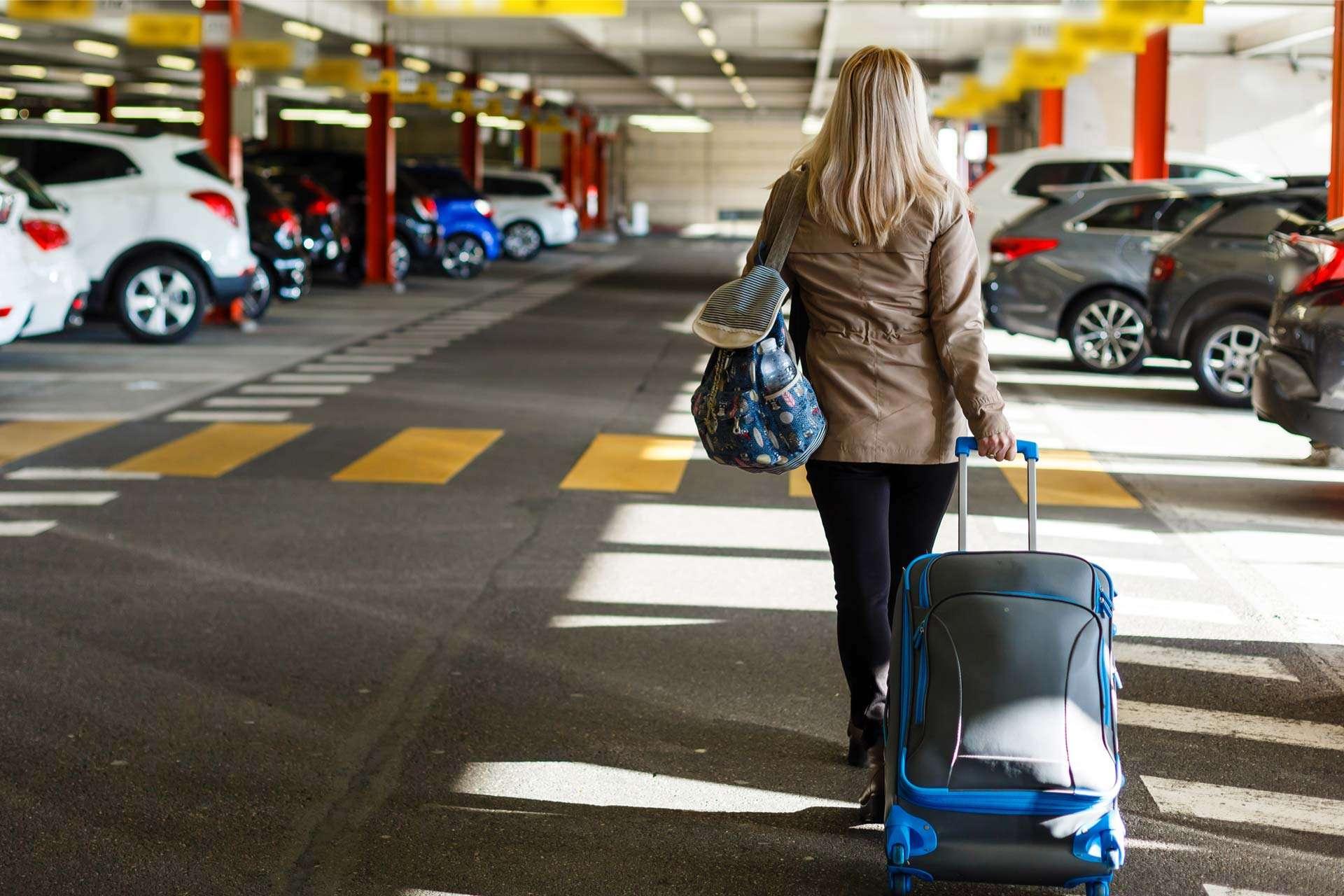 Parking d'aéroport