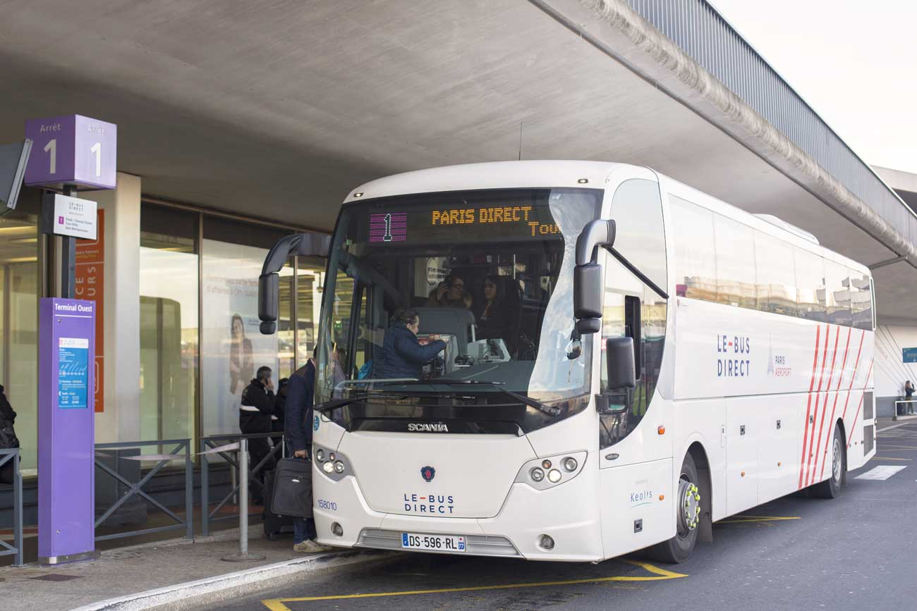 Bus Direct depuis l'aéroport d'Orly